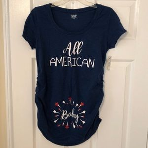 NWT Maternity Shirt - size small/medium